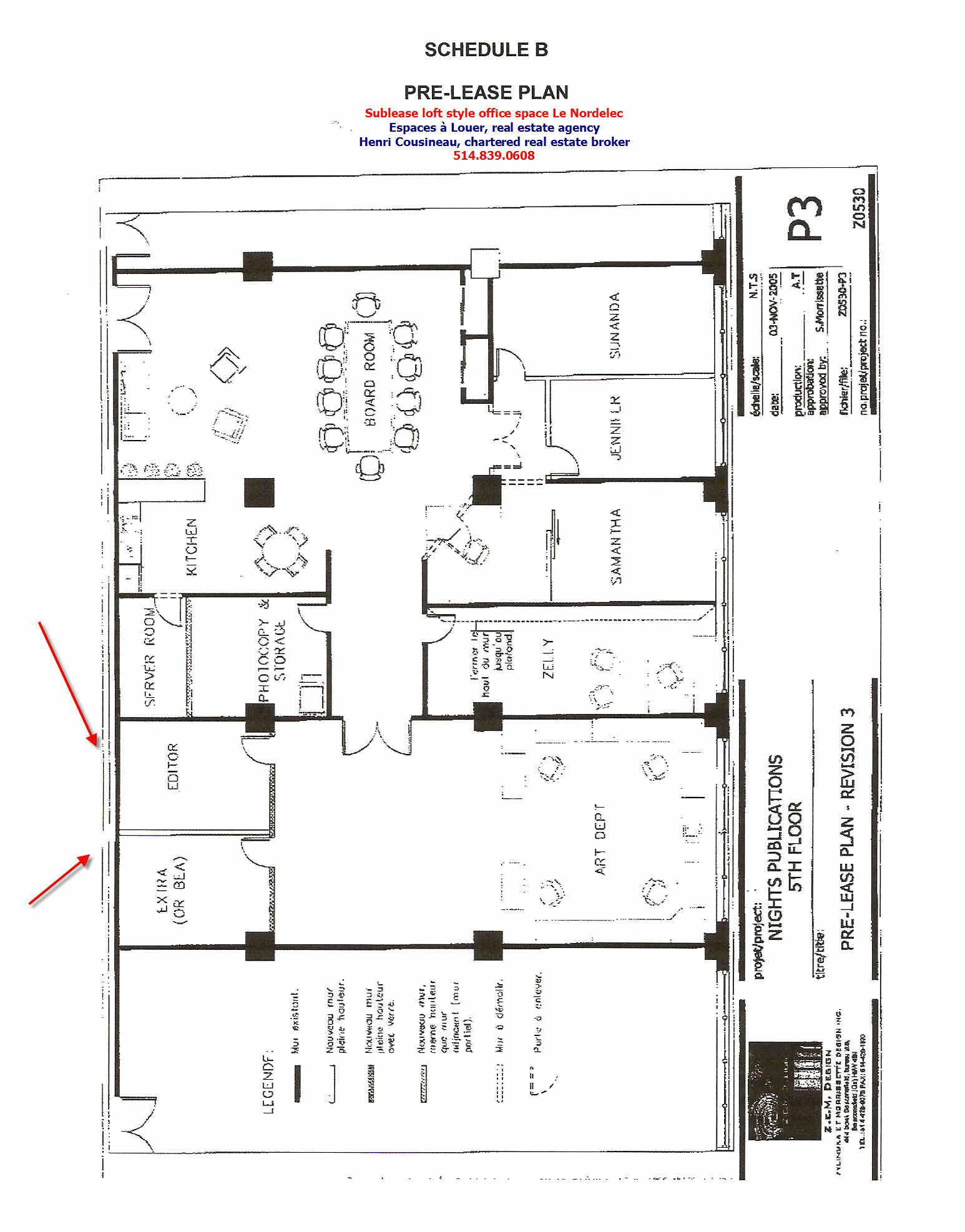 location bureau style loft secteur le nordelec canal lahine. Black Bedroom Furniture Sets. Home Design Ideas